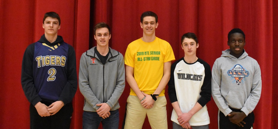 Northern Tier League Boys Basketball All-Star teams