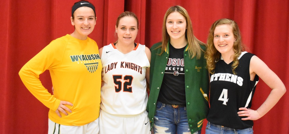 Northern Tier League Girls Basketball All-Star teams
